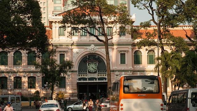 記事中190710ベトナム中央郵便局