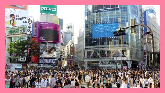 サムネ190716渋谷スクランブル交差点