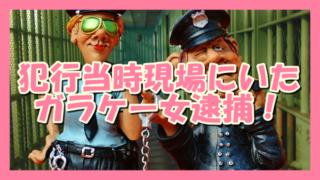 サムネ190818煽り傷害犯行現場のガラケー女逮捕!
