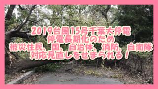 サムネ190916台風15号千葉大停電対策見直し