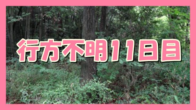 サムネ191001道志村小1女児行方不明11日目