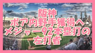 サムネ191129_1128阪神ボア内野手獲得